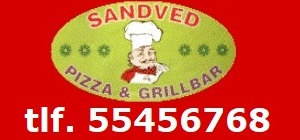 Sandved Pizza & Grillbar. Telefon 55456768