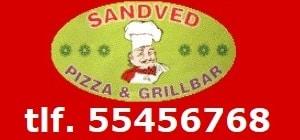 Sandved Pizza & Grillbar. Telefon 55456768